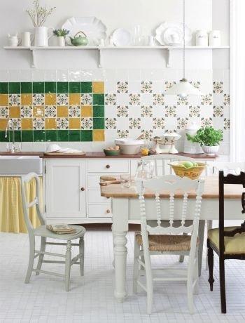 Фотография: Кухня и столовая в стиле Прованс и Кантри,  – фото на InMyRoom.ru