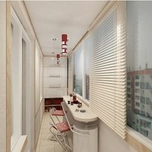 Фотография: Балкон, Терраса в стиле Современный, Малогабаритная квартира, Квартира, Индустрия, События – фото на InMyRoom.ru