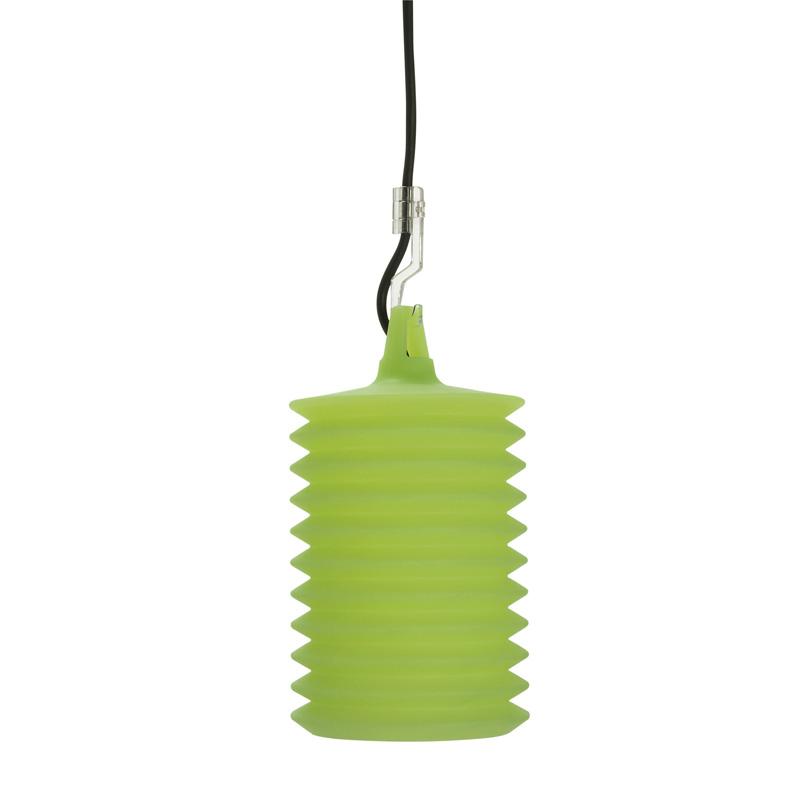 Подвесной уличный светильник Rotaliana Lampion h2 Verde с силиконовым плафоном