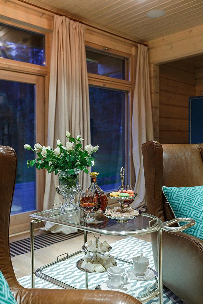 Фотография: Мебель и свет в стиле Эклектика, Классический, Дом, Дома и квартиры, Проект недели, Дача – фото на InMyRoom.ru