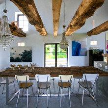 Фотография: Кухня и столовая в стиле Эклектика, Дом, Франция, Дома и квартиры, Фьюжн – фото на InMyRoom.ru