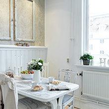 Фотография: Кухня и столовая в стиле Кантри, Декор интерьера, Квартира, Белый – фото на InMyRoom.ru