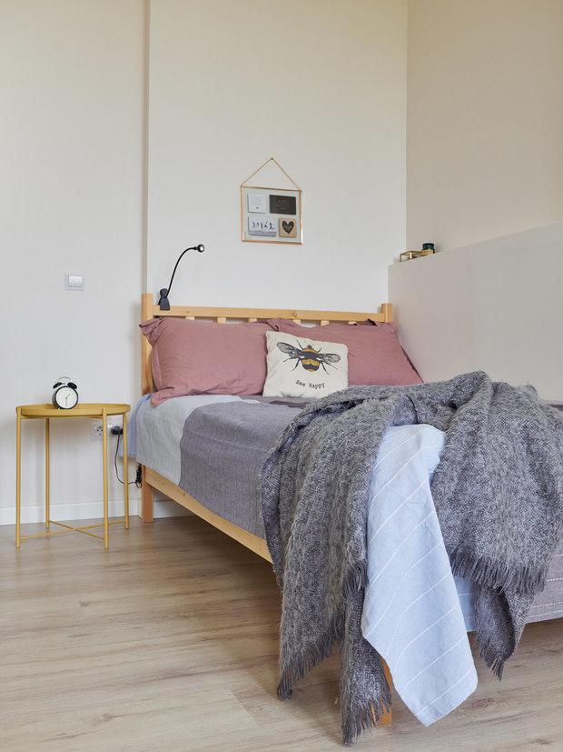 Фотография: Спальня в стиле Скандинавский, Минимализм, #каксэкономить – фото на INMYROOM