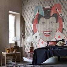 Фотография: Спальня в стиле Кантри, Современный, Карта покупок, Индустрия, Фотообои – фото на InMyRoom.ru