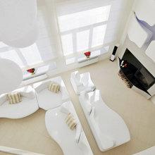 Фото из портфолио Футуристический дом – фотографии дизайна интерьеров на InMyRoom.ru