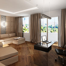 Фото из портфолио Двухъярусная квартира – фотографии дизайна интерьеров на InMyRoom.ru
