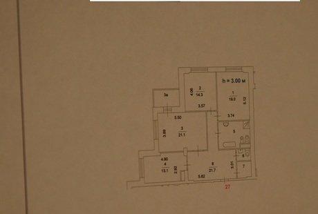 Прошу помощи при планировке квартиры 3-шки 100 кв.м.