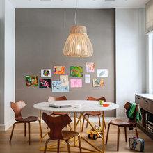 Фотография: Кухня и столовая в стиле Кантри, Скандинавский, Современный, Декор интерьера, Мебель и свет – фото на InMyRoom.ru