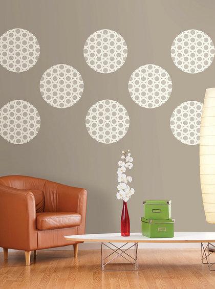 Фотография: Мебель и свет в стиле Современный, Декор интерьера, Декор дома, Цвет в интерьере, Обои – фото на InMyRoom.ru