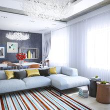 Фотография: Гостиная в стиле Скандинавский, Современный, Квартира, Дома и квартиры – фото на InMyRoom.ru