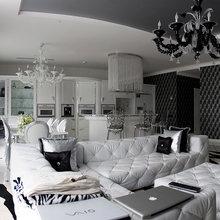 Фото из портфолио Черно-белый шик – фотографии дизайна интерьеров на INMYROOM