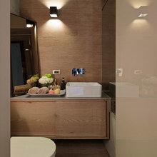 Фотография: Ванная в стиле Современный, Офисное пространство, Офис, Дома и квартиры, Проект недели – фото на InMyRoom.ru