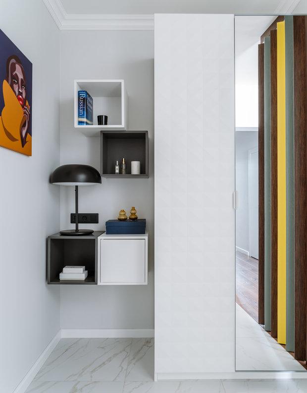 Фотография: Прихожая в стиле Современный, Квартира, Проект недели, 2 комнаты, 60-90 метров, Люберцы, Евгения Пестова – фото на INMYROOM