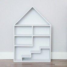 """Кукольный домик """"Milan"""" c лестницей белый"""