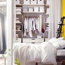 Фотография: Спальня в стиле Скандинавский, Современный, Декор интерьера, Малогабаритная квартира, Квартира, Советы – фото на InMyRoom.ru