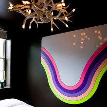Фотография: Декор в стиле Современный, Малогабаритная квартира, Дизайн интерьера, Нью-Йорк, Диван, Декоративные панели – фото на InMyRoom.ru