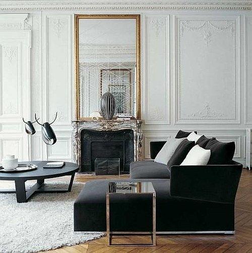 Фотография: Гостиная в стиле Эклектика, Декор интерьера, Дом, Мебель и свет – фото на InMyRoom.ru