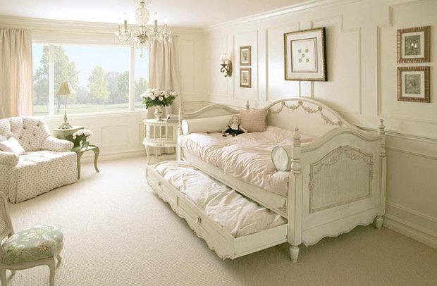 Фотография: Спальня в стиле Прованс и Кантри, Классический, Современный, Декор интерьера, Дом, Мебель и свет, Дома и квартиры, Прованс, Шебби-шик, DG Home – фото на InMyRoom.ru