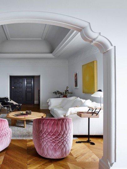 Фотография: Гостиная в стиле Эклектика,  – фото на INMYROOM
