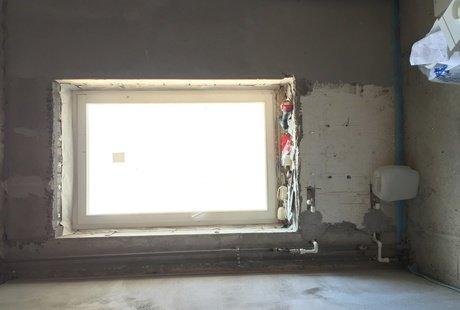 Маленькое окно на кухни