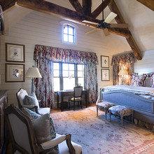 Фотография: Спальня в стиле Кантри, Классический, Современный, Декор интерьера, Дом, Декор дома, Мансарда – фото на InMyRoom.ru