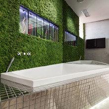 Фото из портфолио Фитостена в ванной комнате  – фотографии дизайна интерьеров на InMyRoom.ru