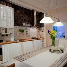 Фото из портфолио Кухня для передачи Школа Ремонта – фотографии дизайна интерьеров на INMYROOM