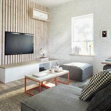 Фото из портфолио Пространство и структура. Интерьер дома в Зеленограде от INT2 – фотографии дизайна интерьеров на INMYROOM