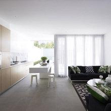 Фотография: Кухня и столовая в стиле Минимализм, Дом, Австралия, Дома и квартиры – фото на InMyRoom.ru