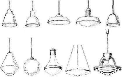 Типы искусственного освещения