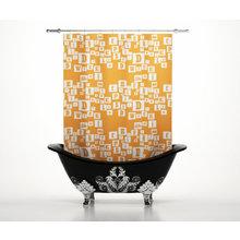 Штора для ванной: Буквы