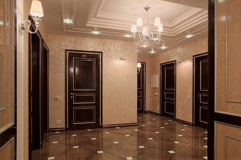 Фотография: Прихожая в стиле Классический, Квартира, Дома и квартиры, Ар-деко, Неоклассика – фото на InMyRoom.ru