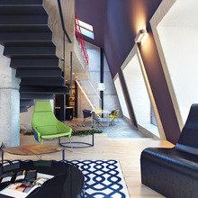 Фотография: Гостиная в стиле Лофт, Индустрия, События, Галерея Neuhaus – фото на InMyRoom.ru