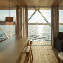 Фото из портфолио Плавающий модульный дом в Португалии – фотографии дизайна интерьеров на InMyRoom.ru