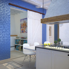 Фото из портфолио Для ценителей средиземноморского колорита...  – фотографии дизайна интерьеров на InMyRoom.ru
