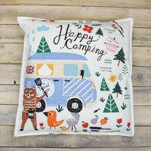 """Подушка """"Happy Camping"""""""