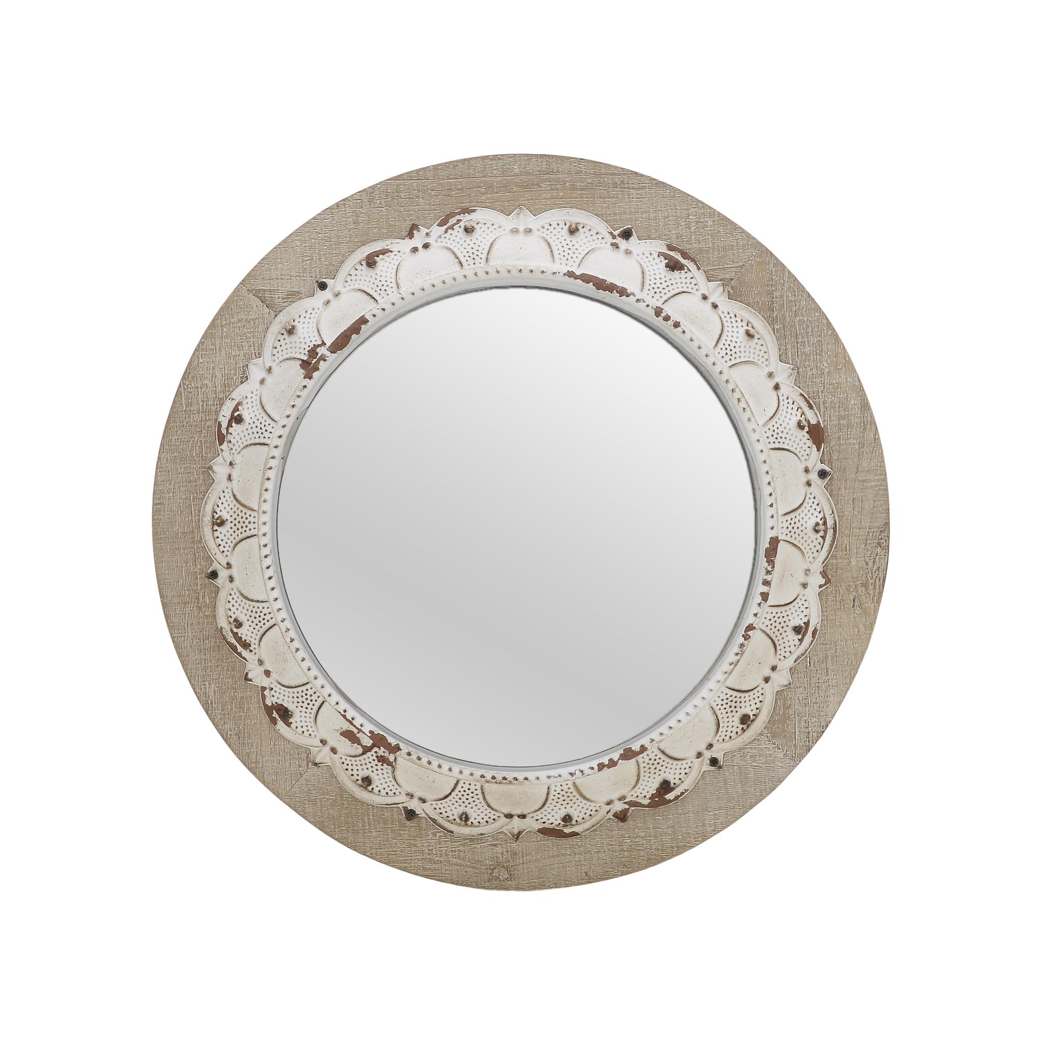 Купить Зеркало настенное круглое, inmyroom, Греция