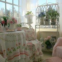 Фотография: Балкон в стиле Кантри, Спальня, Дизайн интерьера, Шебби-шик – фото на InMyRoom.ru