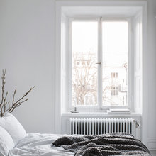 Фото из портфолио Фамильный интерьер с балконом и камином – фотографии дизайна интерьеров на INMYROOM