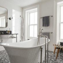Фото из портфолио Роскошная 2-уровневая квартира в Бруклине – фотографии дизайна интерьеров на InMyRoom.ru