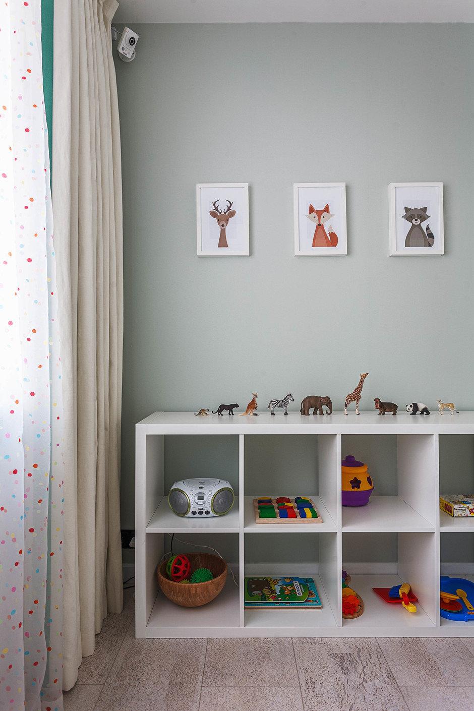 Фотография: Детская в стиле Современный, Квартира, Проект недели, Москва, ИКЕА, Мила Титова, П44т – фото на InMyRoom.ru