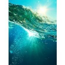 """Покрывало на кровать """"Сила океана"""""""