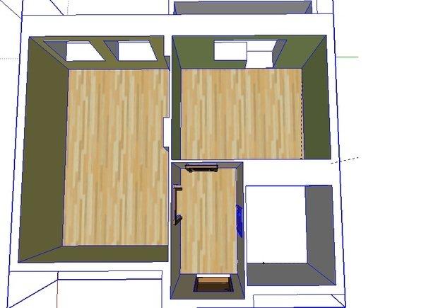 помогите, пожалуйста, продумать дизайн кухни