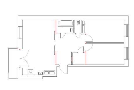 Нужны советы по дизайну гостиной и размещению тренажера