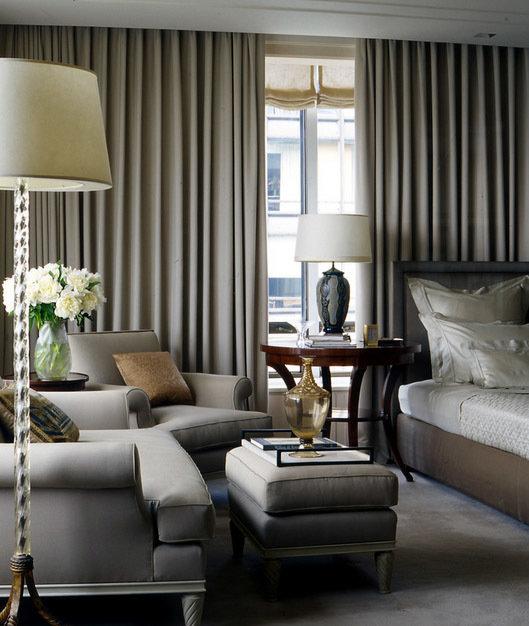 Фотография: Спальня в стиле Прованс и Кантри, Декор интерьера, Текстиль, Шторы – фото на InMyRoom.ru