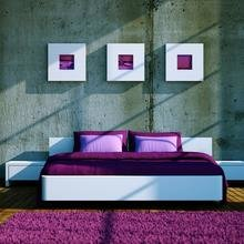 Фото из портфолио Фиолетовый цвет – фотографии дизайна интерьеров на INMYROOM