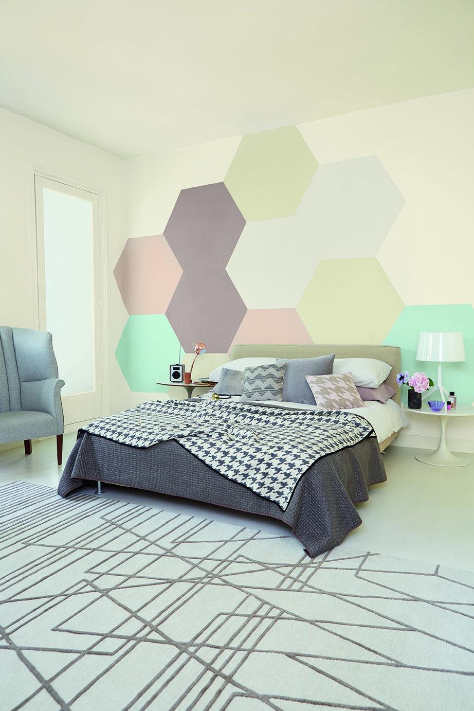Фотография: Спальня в стиле Лофт, Декор интерьера, Дизайн интерьера, Цвет в интерьере, Бежевый, Dulux – фото на InMyRoom.ru