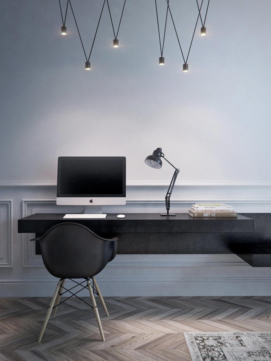 Фотография: Мебель и свет в стиле Лофт, Современный, Скандинавский, Квартира, Минимализм, Проект недели – фото на InMyRoom.ru
