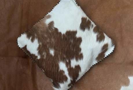 Продам шкуру коровы, подушка в подарок