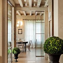 Фотография:  в стиле , Дом, Дома и квартиры, Прованс, Стены, Балки – фото на InMyRoom.ru